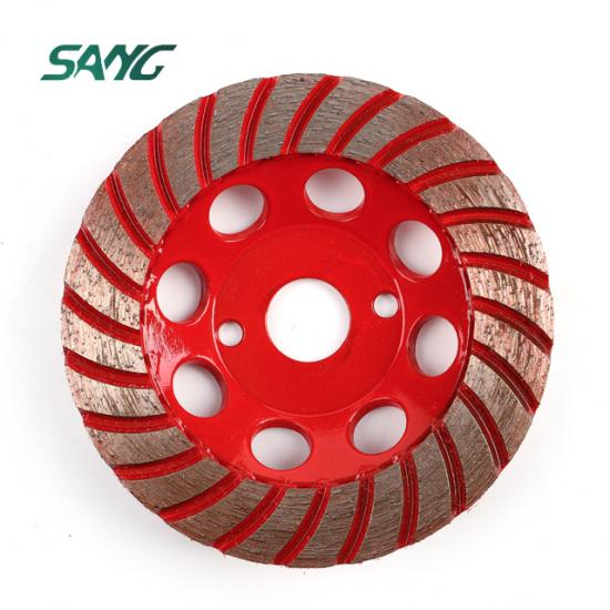 diamond cup wheel, single row diamond cup wheel, floor grinding tool